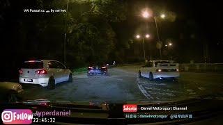 Volkswagen #passat mk6 Mitsubishi evo3 #evo6 #evoX JDM Touge DuckTeam Kanjo Night