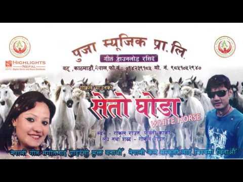 Seto Ghoda - Nepali Hit Lok Dohori Geet 2016/2073 | Gokul Raut, Parbati Karki | Puja Music