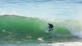 Santa Cruz Waves:  Surfing at Steamer Lane