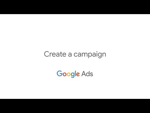 Get Started with Google AdWords: Create a Campaign