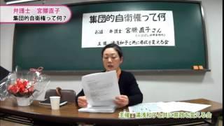 『集団的自衛権って何?』 弁護士/宮腰直子