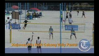 Pembukaan Kejurnas Pra PON Cabang Volly Pantai Di JSC Palembang