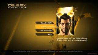 Deus Ex: Human Revolution (PC), Part 000: Let