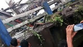 Kolkata majherhat bridge collapse video