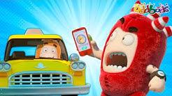 Oddbods | NEW | TAXI TURMOIL | Full EPISODE COMPILATION | Funny Cartoons For Kids