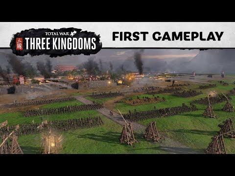 Total War: THREE KINGDOMS – E3 Gameplay Reveal - YouTube