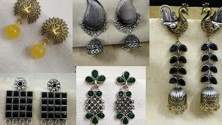 Latest Oxidised Earrings Jewellery||Oxidised Jewellery Collection||Trendy Earrings || Collective4u