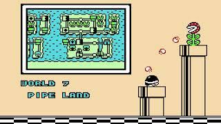 "[TAS] NES Super Mario Bros. 3 ""game end glitch"" by Masterjun & ais523 in 00:00.78"