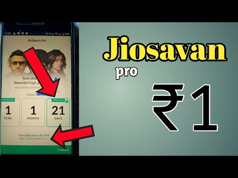 How To Get Jiosavn Pro Free For Jio Users  #Bengali  Or #hindi