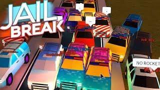 MASSIVE SUV RACE IN JAILBREAK *NEW VEHICLE*