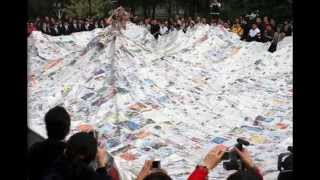 The biggest dress in the world