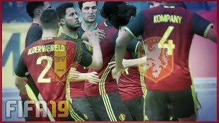 BELGIE - NEDERLAND   OEFENINTERLAND (FIFA 19)