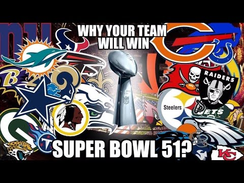 Super Bowl 51: One Reason Why Your Favorite Team MIGHT Win