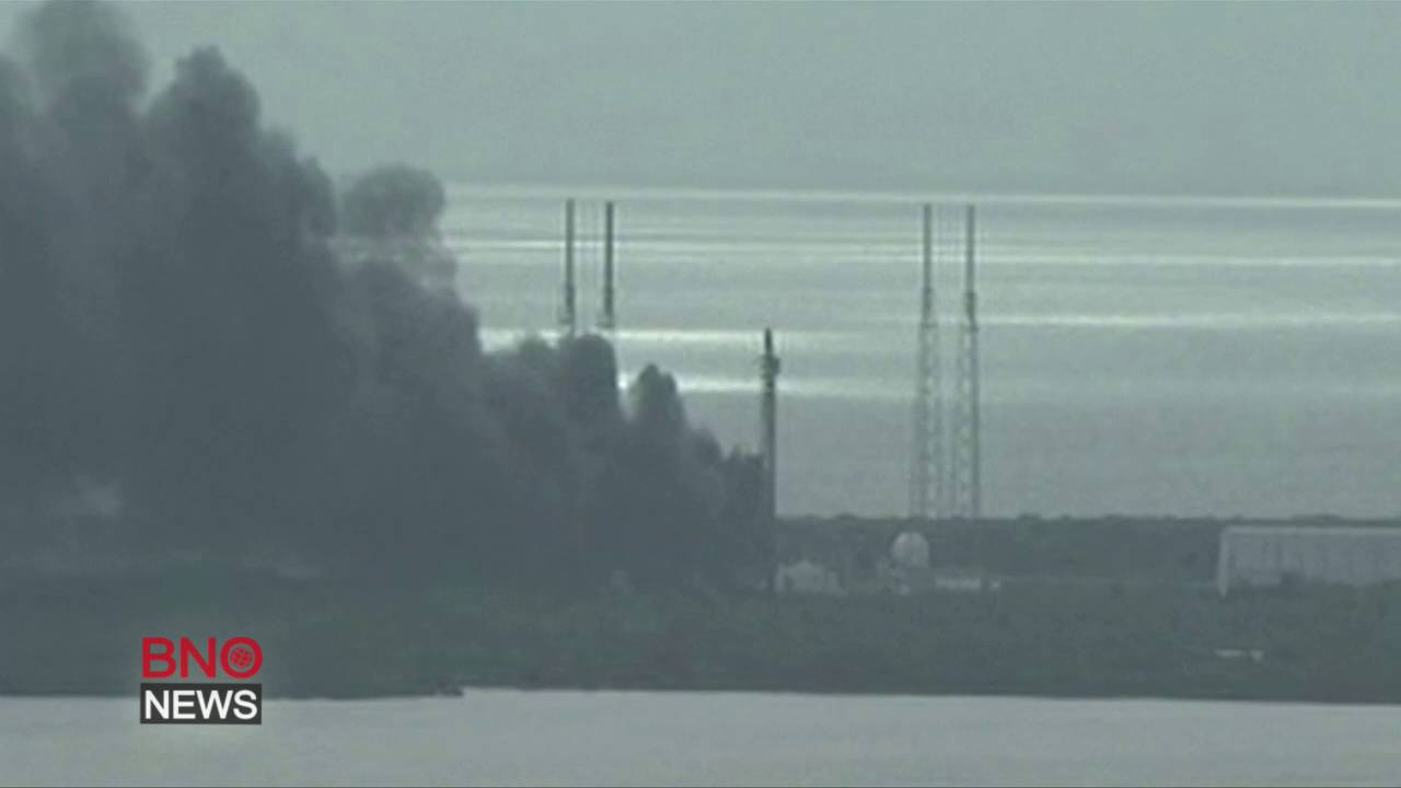 Explosion rocks Space X launch site at Cape Canaveral; no injuries reported