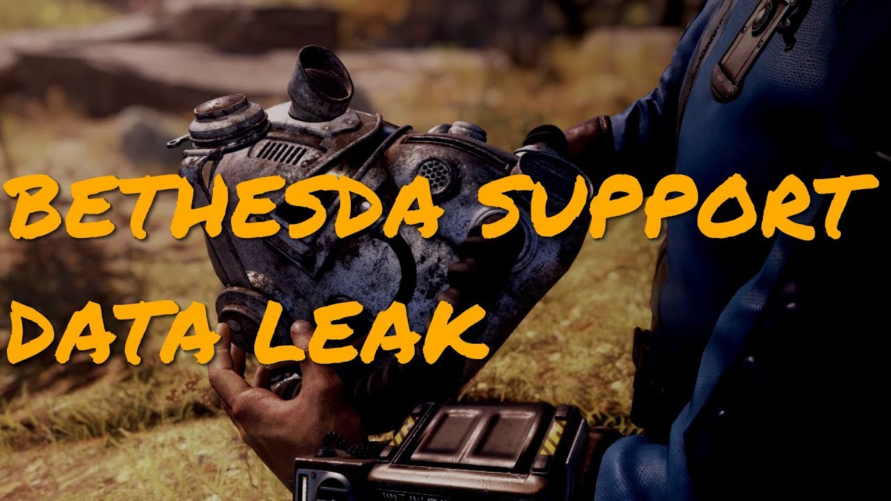 Silly Bethesda Leaks Personal Details Of Fallout 76 Customers To Other  Customers