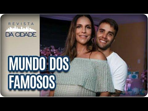 Gêmeas De Ivete Sangalo + Climão Entre Paolla Oliveira E Juliana Paes - Revista Da Cidade (14/02/18)