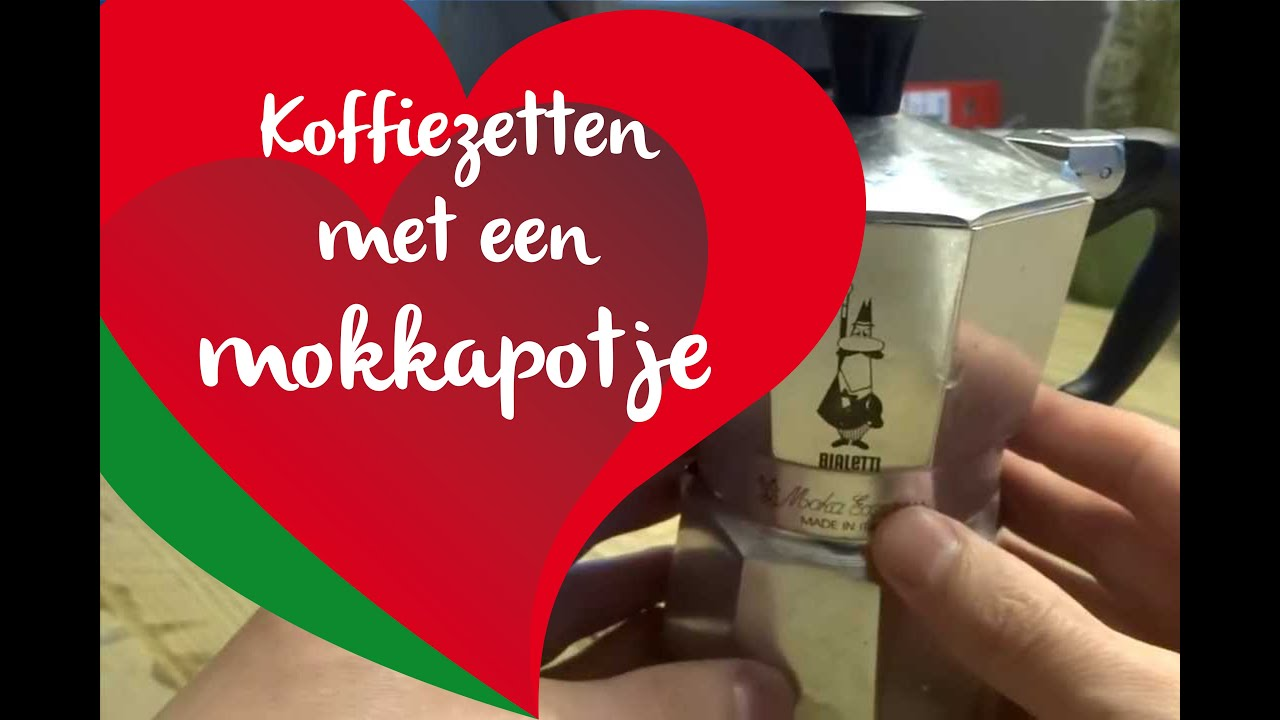Bekend Koffiezetten met een mokkapotje - YouTube @FT29