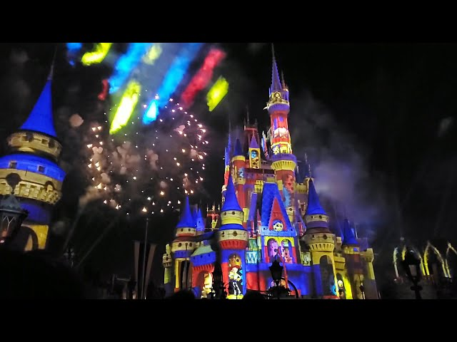 Happily ever after magic kingdom 4k full show