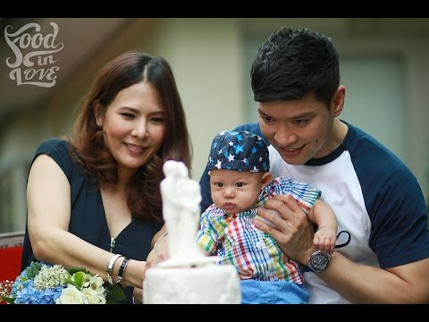 Food in love | Photo Wedding Cake ครบรอบแต่งงาน 'หนุ่ม คงกะพัน' | 11-07-58 | 1/4
