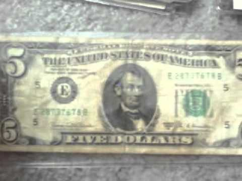 Us Currency Collection Federal reserve notes