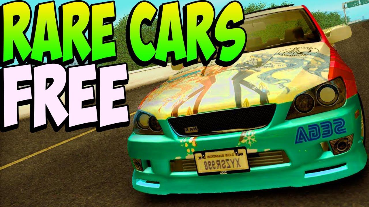 GTA 5 Online - SECRET RARE CARS ONLINE After Patch