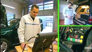 Mercedes Benz ML | Vorsicherungsdosen prüfen (W164) - (W251)