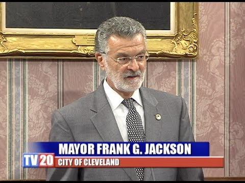 Press Conference-Cleveland City Hall