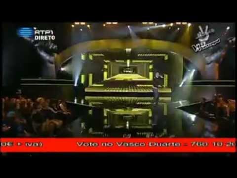 Vasco Duarte - Não Sou o Único (3ª Gala - A Voz de Portugal)