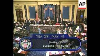 USA: PRESIDENT CLINTON IMPEACHMENT TRIAL