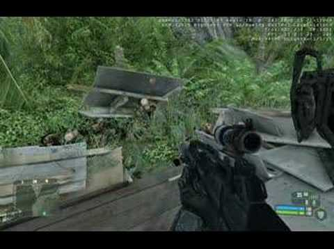 Funny glitch in Crysis