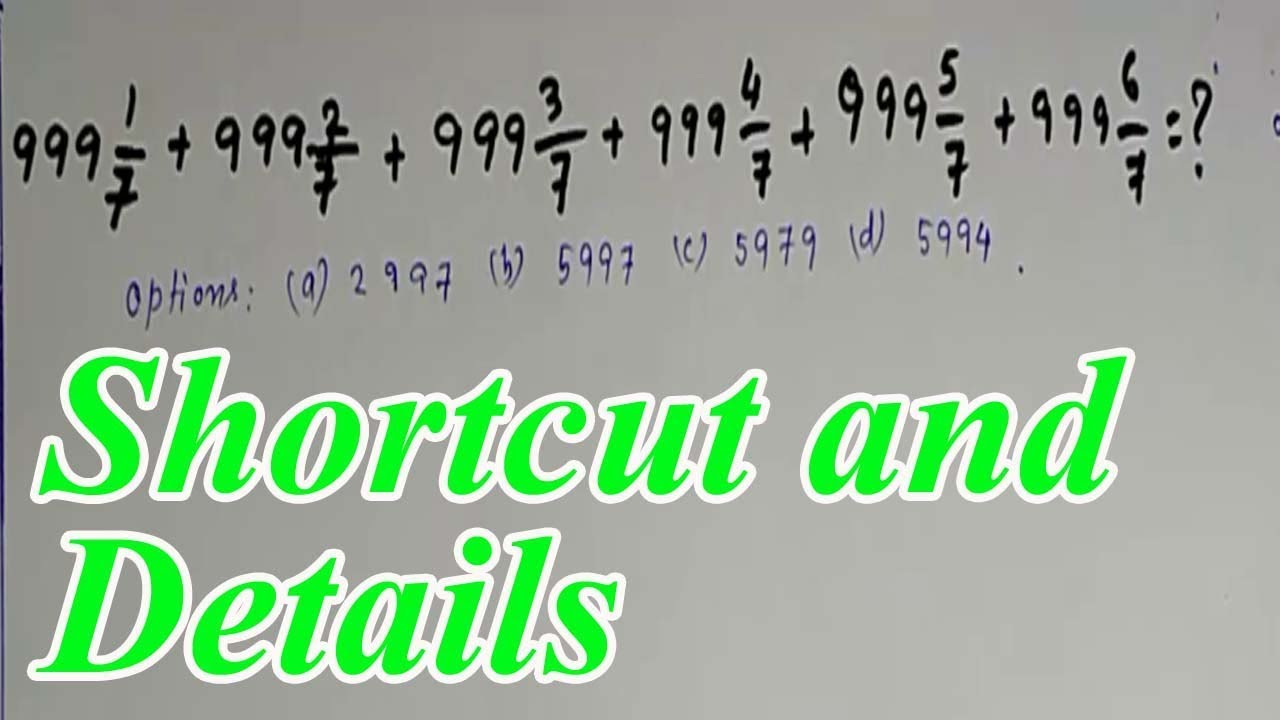 Bengali Math Shortcut Tricks and Tips || easy way to solved maths ...