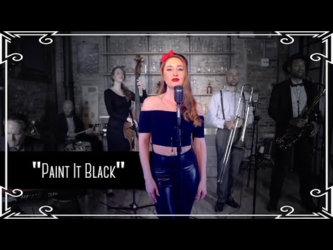 """""""Paint It Black"""" (The Rolling Stones) Amy Winehouse/Back To Black Cover By Robyn Adele Anderson"""