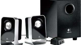 Logitech Ls 21 Surround Speakers Unboxing And Review