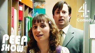 Mark Encounters Dobby in the Stationery Closet | Peep Show