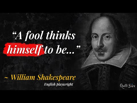 Top 10 William Shakespeare Quotes | Quotes | Inspiration | M