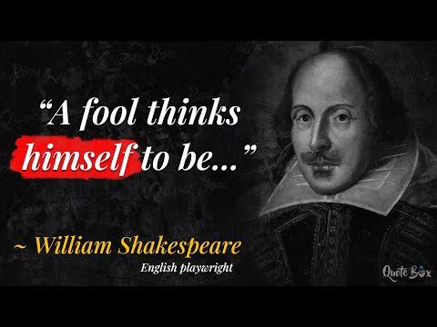 Top 10 William Shakespeare Quotes | Doovi