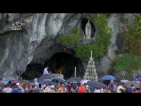 Chapelet du 10 août 2020 à Lourdes
