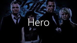Skillet - Hero lyrics video [TheNote] Mp3