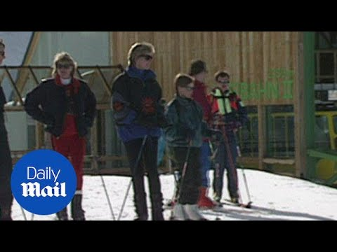 Princess Diana Spotted Skiing With William And Harry In Austria - Daily Mail