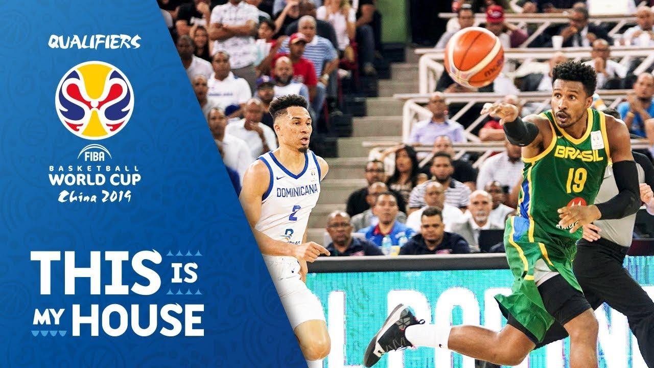 Dominican Republic v Brazil - Full Game - FIBA Basketball World Cup 2019