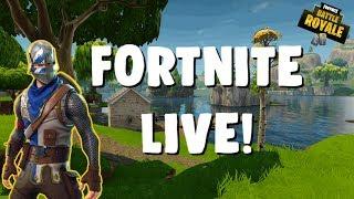 FORTNITE LIVE! NEW MINIGUN UPDATE! 1.2K Sub Grind! Sponsor Goal 1/5