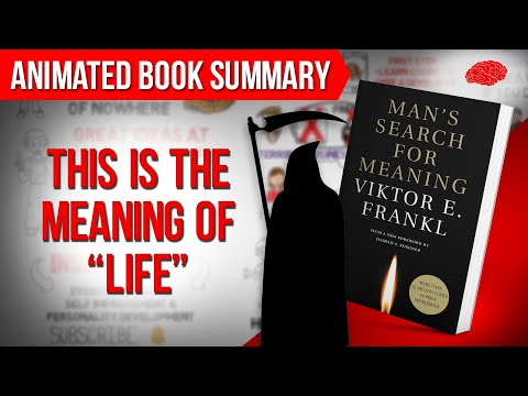 Man's Search for Meaning by Viktor Frankl | Animated Book Summary of the best Ideas