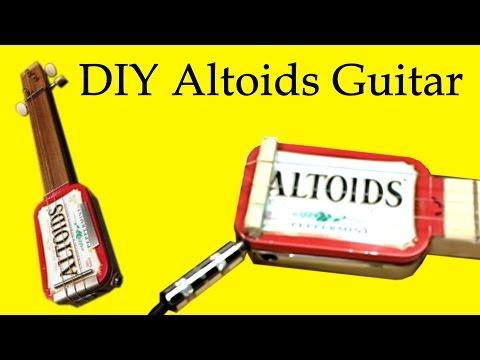 How to Make an Altoids Guitar (DIY)