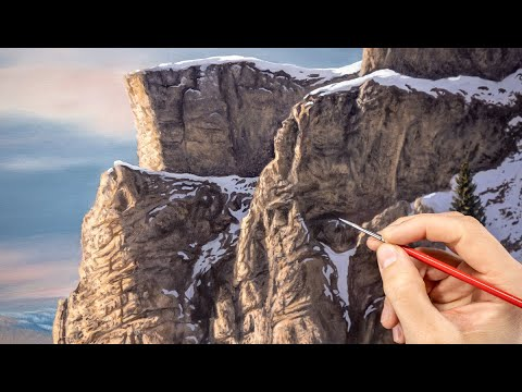 Realistic Rocks - How Do You Paint Them?