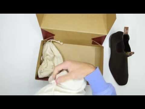 RM Williams Suede Craftsman Comfort Sole - Brown - Walktall   Unboxing   Hands on