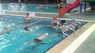 2012 高雄市自由游泳池   古教練游泳教學  自由式  蛙式