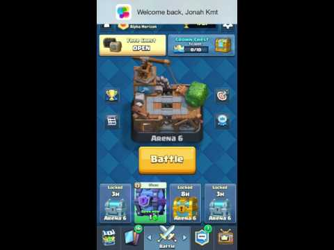 EPIC Arena 6 SUPER MAGICAL CHEST(Clash Royale)