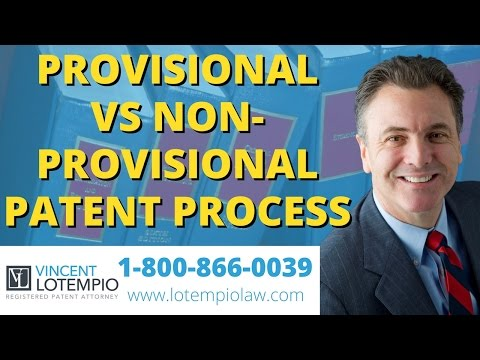 What's The Difference Between a Provisional & Nonprovisional Patent - Inventor FAQ, Ask An Attorney