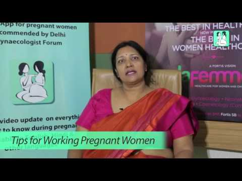 Tips for Working Pregnant Women