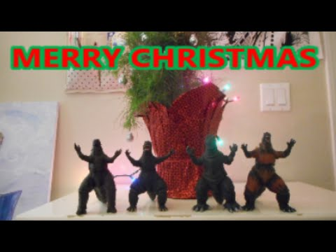 Merry Christmas from Godzilla - YouTube